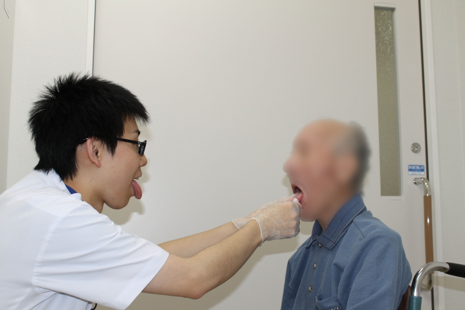 舌の可動域訓練