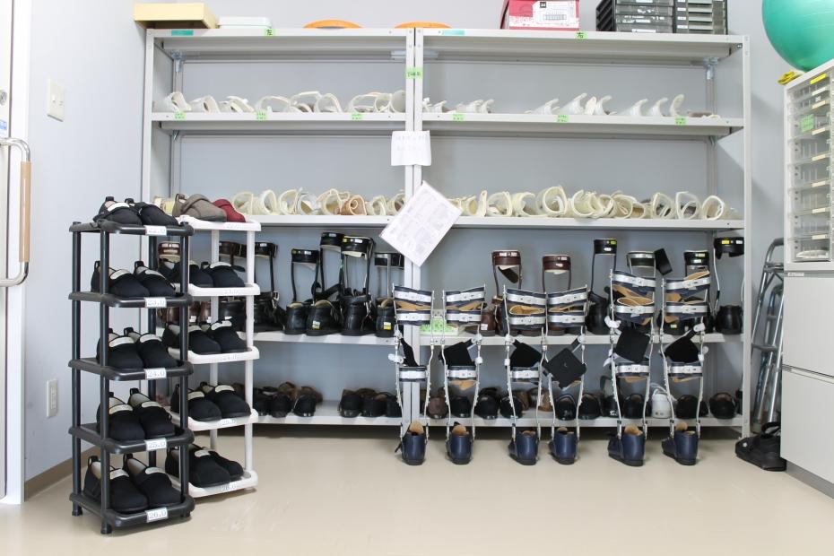 倉庫(装具・靴)