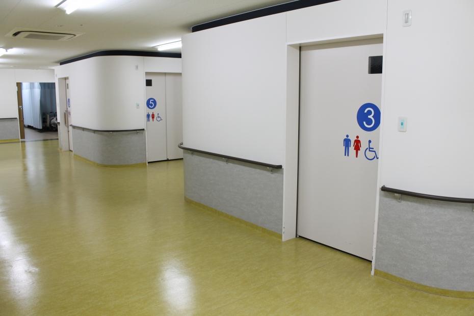 病棟トイレ