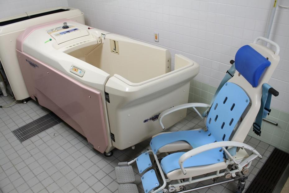 病棟機械浴