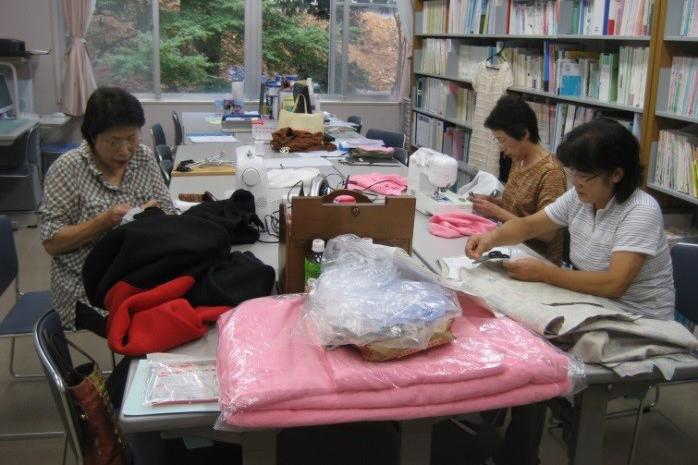 裁縫ボランティア